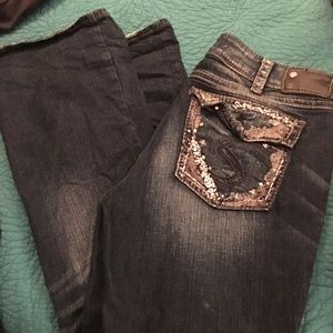 Silver Suki jeans 33x33 great condition
